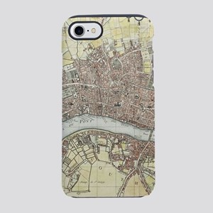Vintage Map of London England iPhone 7 Tough Case