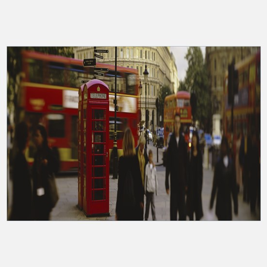 Phone Booth Trafalgar Square London England