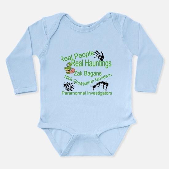 Ghost Adventures Long Sleeve Infant Bodysuit
