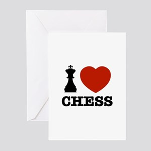 I love Chess Greeting Cards (Pk of 10)
