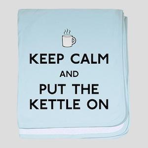 Keep Calm baby blanket