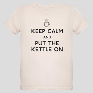 Keep Calm Organic Kids T-Shirt
