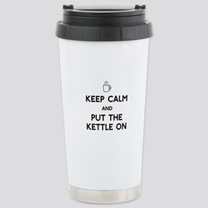 Keep Calm Stainless Steel Travel Mug