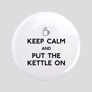 "Keep Calm 3.5"" Button"