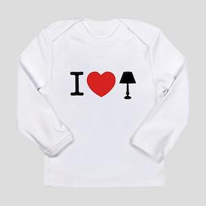 I Love Lamp Long Sleeve Infant T-Shirt