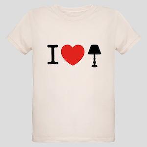 I Love Lamp Organic Kids T-Shirt