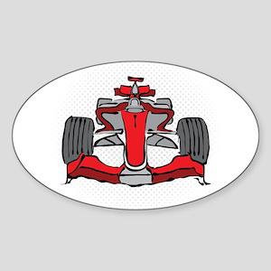 Formula 1 Sticker (Oval)