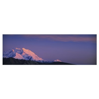 Mountain AK Framed Print