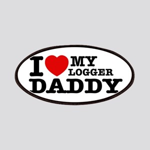 I love my Logger Daddy Patches