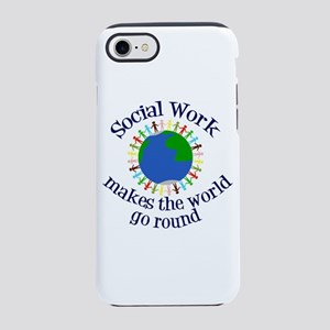 Social Worker iPhone 7 Tough Case