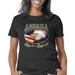America Love It 3 dist trs Women's Classic T-Shirt