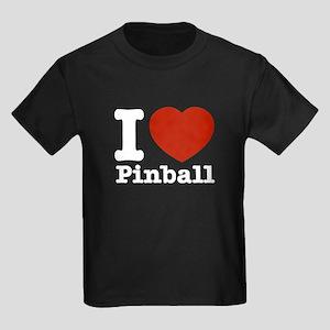 I love Pinball Kids Dark T-Shirt