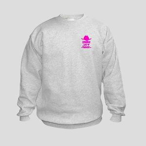 Cowgirls Love Pageants Sweatshirt