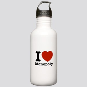 I love Monopoly Stainless Water Bottle 1.0L