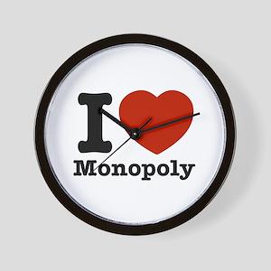 I love Monopoly Wall Clock