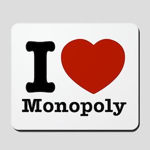 I love Monopoly Mousepad