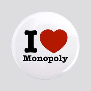 "I love Monopoly 3.5"" Button"