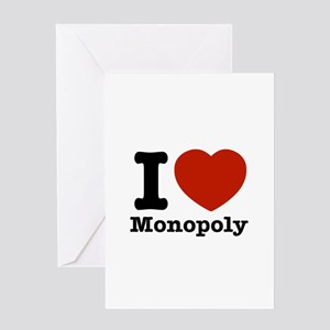 I love Monopoly Greeting Card