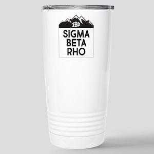 Sigma Beta Rho Mo 16 oz Stainless Steel Travel Mug