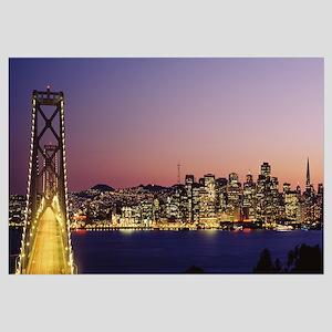 California, San Francisco, Bay Bridge in San Franc