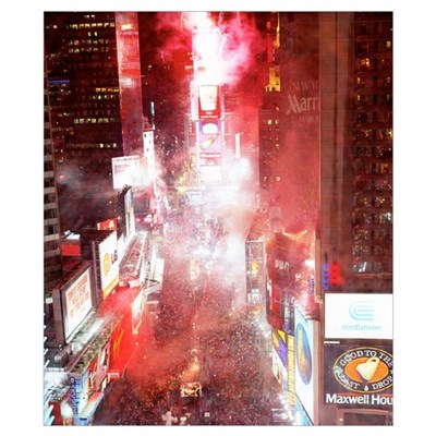 New Years Eve Times Square New York NY Poster