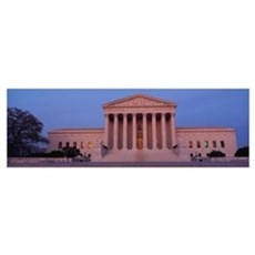 US Supreme Court building, Washington, DC Canvas Art