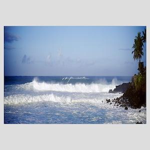 Breaking Waves Waimea Bay HI