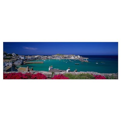 St. Ives Cornwall England Poster
