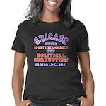 Chicago 1 dk Women's Classic T-Shirt