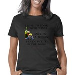 wine cooking tr 2 Women's Classic T-Shirt