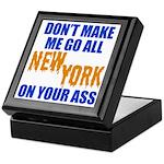 New York Baseball Keepsake Box