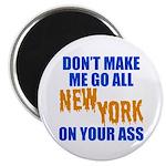 New York Baseball Magnet