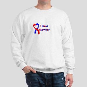 I Heart Survivor Sweatshirt