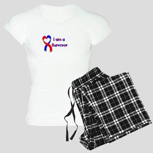 I Heart Survivor Women's Light Pajamas