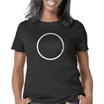 circle-white Women's Classic T-Shirt