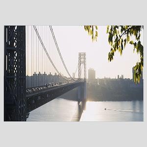 Bridge across the river, George Washington Bridge,