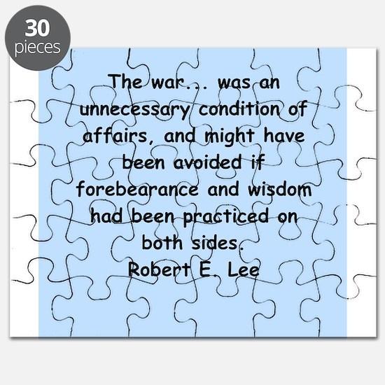 robert e lee Puzzle