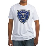 USS BEXAR Fitted T-Shirt
