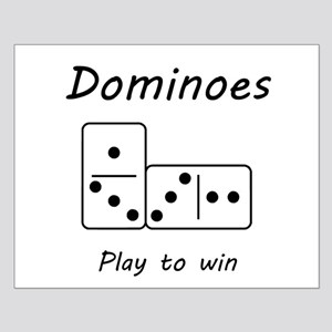 Dominoes Small Poster