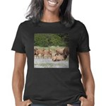 Elk at Prairie Creek Redwo Women's Classic T-Shirt