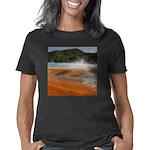 Grand Prismatic Spring Yel Women's Classic T-Shirt
