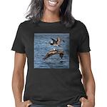 Pelicans in Flight Women's Classic T-Shirt