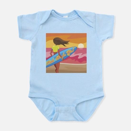 little surfer girl Infant Creeper