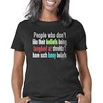 funny_beliefs - black Women's Classic T-Shirt