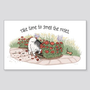 The Fuzz Butt Gardener Sticker
