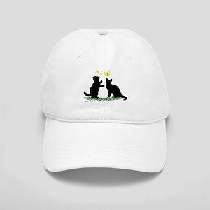 4844b352e4b Kittens   Butterflies Cap