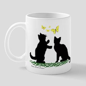 Kittens & Butterflies Mug