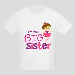Dance Big Sister Kids Light T-Shirt