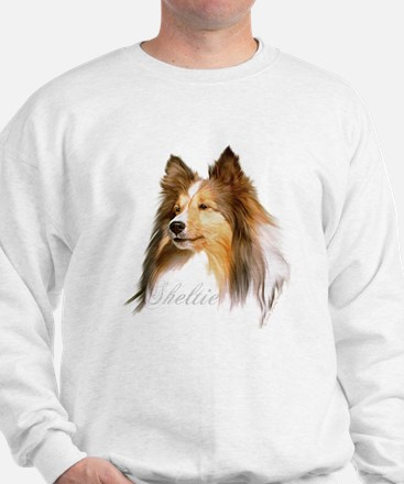 Sheltie Head-Retro Jumper