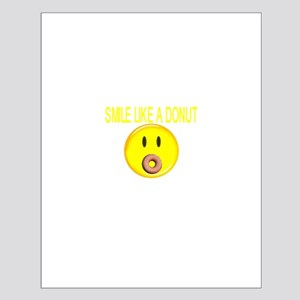 Basic Smile Like A Donut Small Poster